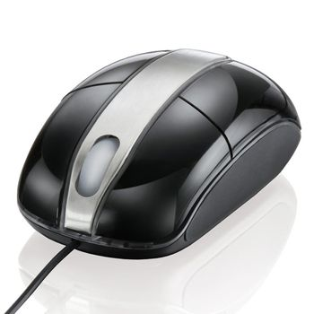 Mouse-Optico-Steel-Black-Piano-Multilaser