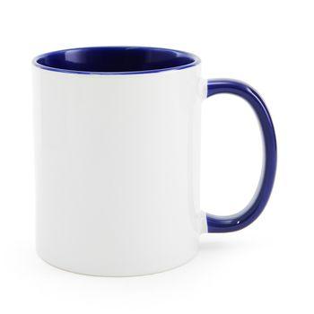 Caneca-para-Sublimacao-com-Alca-e-Interior-Azul---em-Ceramica-Branca