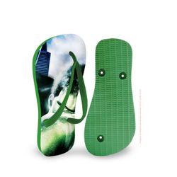 chinelo-infantil-verde