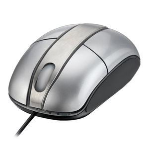 Mouse-Optico-Steel-Silver-Piano-Multilaser