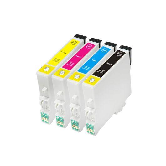 Kit-Com-4-Cartuchos-Compativeis-63N-para-Epson-C67-C87-CX3700-CX4100-CX4700