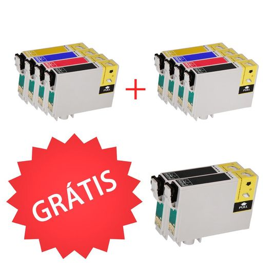 2-Kits-com-4-Cartuchos-Compativeis-1351133---Compre-e-Ganhe-Gratis-2-Cartuchos-1351