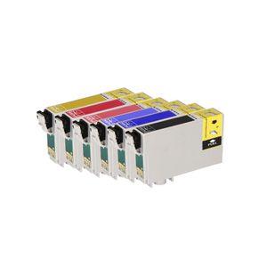 Kit-Com-6-Cartuchos-Compativeis-82N-para-Epson-R270-R290