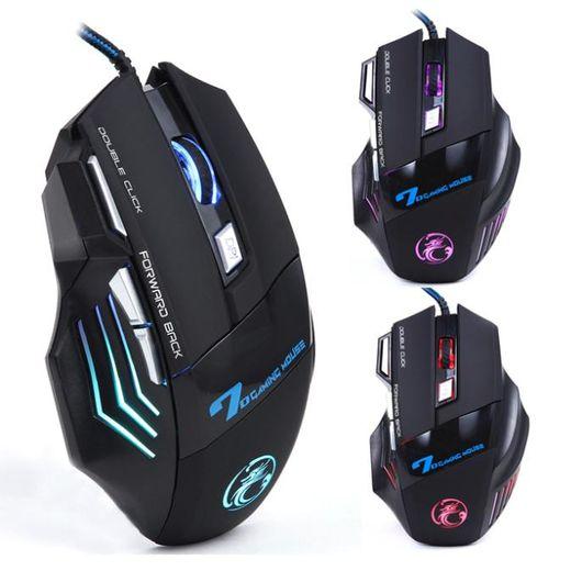 Mouse-Optico-Estone-de-Alta-Precisao-com-7-Botoes-USB-Preto-X