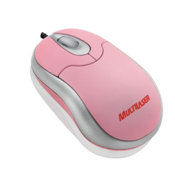 MO116-Mouse-Optico-Multilaser-Mini-Emborrachado-Anatomic-Rosa