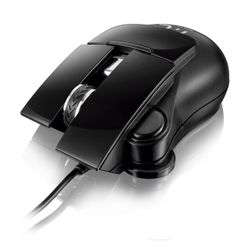 Mouse Óptico Estone Gaming X7 3200dpi USB com 7 botões e LED