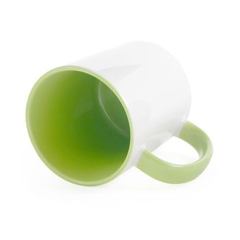 Caneca-para-Sublimacao-com-Alca-e-Interior-Verde---em-Ceramica-Branca-1