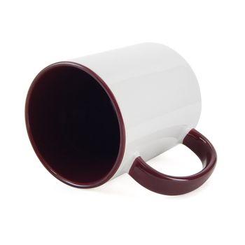 Caneca-para-Sublimacao-com-Alca-e-Interior-Vinho---em-Ceramica-Branca-1