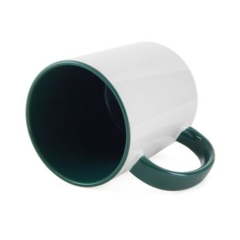 Caneca-para-Sublimacao-com-Alca-e-Interior-Verde-Escuro---em-Ceramica-Branca-1