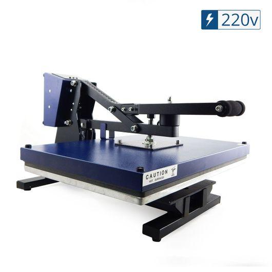 Prensa-Termica-Plana-Azul--Base-40x60--com-Trava-Magnetica---220V
