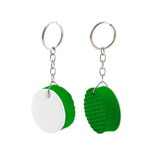 Caheveiro de Borracha Redondo Verde - 5 unidades - socd-mob 5ef4f0bccf09f
