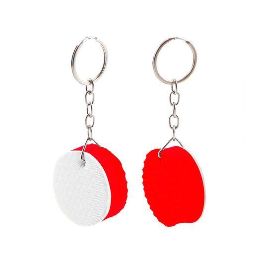 chaveiro-de-borracha-redondo-vermelho