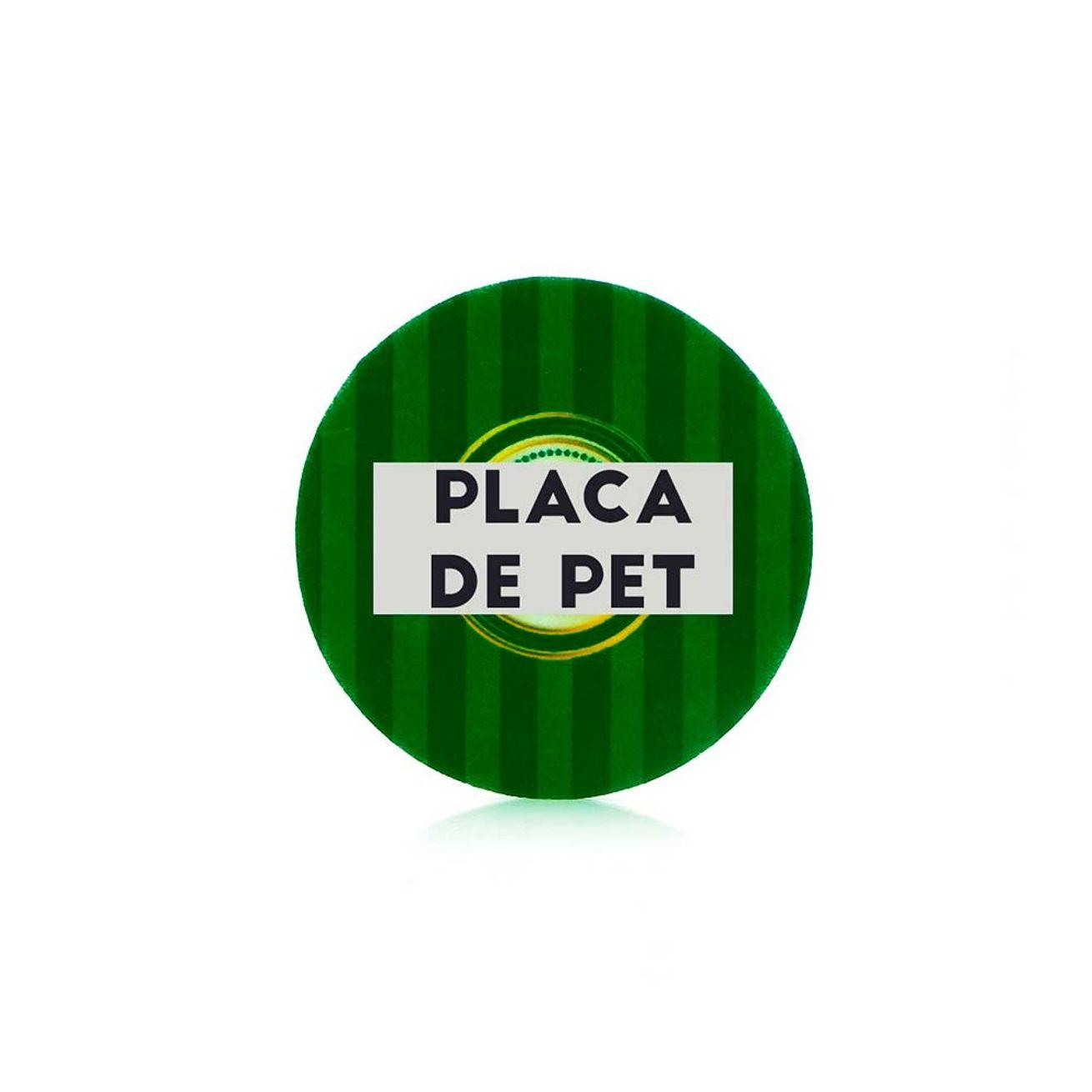 85dd9c55e Placa de Pet Adesivo para Sublimação Redondo - 15 Unidades (5cm) Pet 49