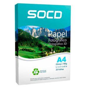 Papel-3D-Holografico-Glossy--Brilho--Listrado-A4-180g---20-folhas