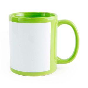 Caneca-para-Sublimacao-de-Ceramica-Verde-Clara-com-Faixa-Branca