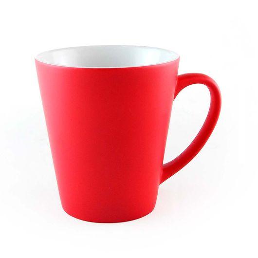 Caneca-Magica-Conica-em-Ceramica-para-Sublimacao---Vermelha-Fosca--Muda-de-Cor-