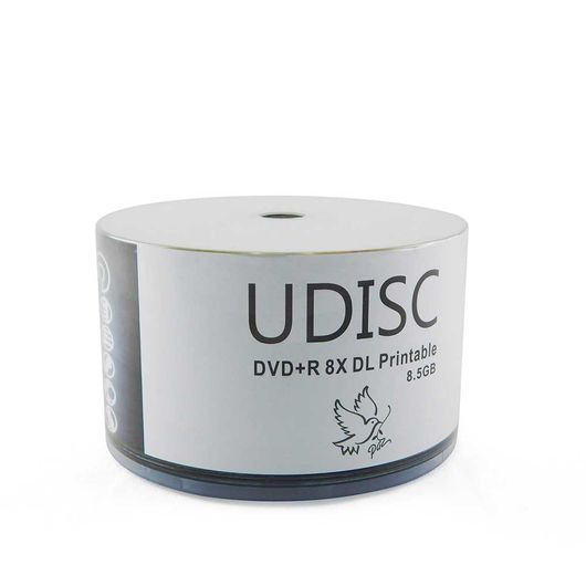 DVD-R-Udisc-8x-Dual-Layer-Printable