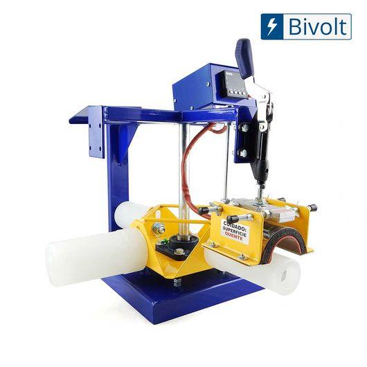 Maquina-de-Transfer-Carrossel-para-Estampar-Caneca-Acrilica-com-4-Tarugos---Bivolt