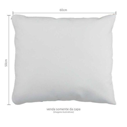 Capa de Almofada em Tecido Oxford com Zíper Invisível 50x60cm