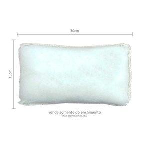 Refil para Enchimento de Almofada 15x30cm