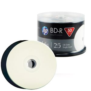 BD-R Blu-Ray HP Printable 25GB