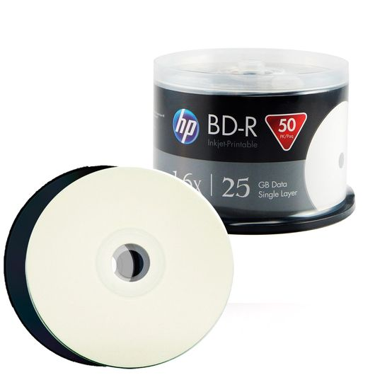 BD-R Blu-Ray HP Printable 25GB