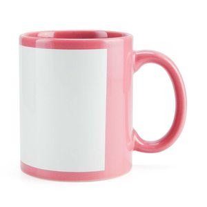 Caneca-para-Sublimacao-de-Ceramica-Rosa-com-Faixa-Branca