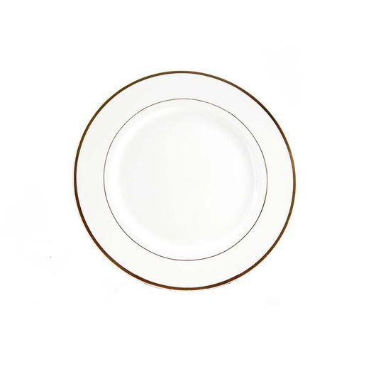Prato-de-Porcelana-com-Borda-Dourada-para-Sublimacao-20-cm