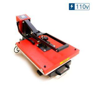 Prensa-Termica-Plana--Base-45X38--Formato-A3-Semi-Automatica-com-Gaveta-Vermelho---110v