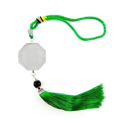 Ornamento-de-Cristal-para-Sublimacao-Verde---D032