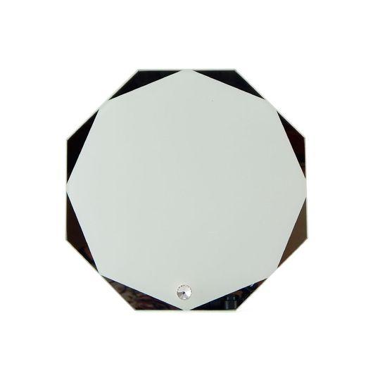 Porta-Retrato-de-Vidro-Octagonal-Espelhado-para-Sublimacao-23cm---C103