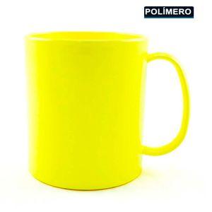 Caneca-para-Sublimacao-de-Plastico-Amarelo-Classe-AAA