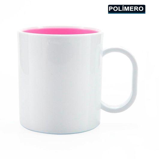Caneca-para-Sublimacao-de-Plastico-Branco-com-Interior-Rosa-Classe-AAA-