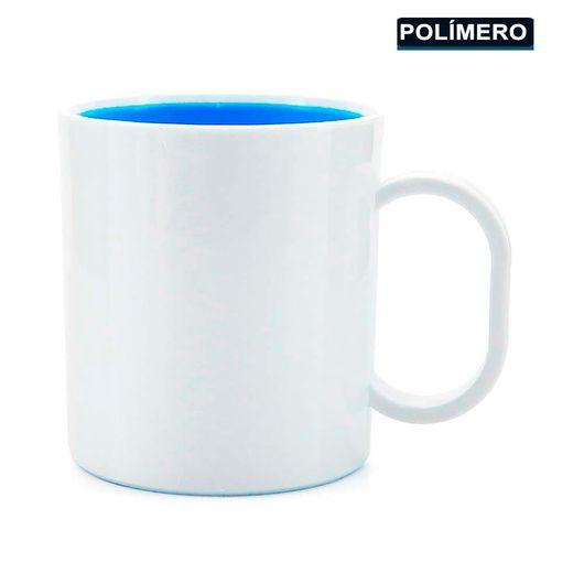 Caneca-para-Sublimacao-de-Plastico-Branco-com-Interior-Azul-Claro-Classe-AAA