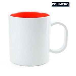 Caneca-para-Sublimacao-de-Plastico-Branco-com-Interior-Vermelho-Classe-AAA