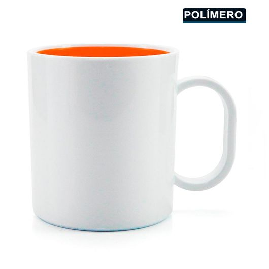 Caneca-para-Sublimacao-de-Plastico-Branco-com-Interior-Laranja-Classe-AAA