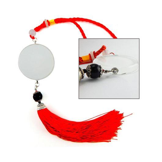 Ornamento-de-Cristal-para-Sublimacao-Vermelho---D031-