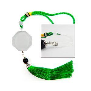 Ornamento-de-Cristal-para-Sublimacao-Verde---D032-
