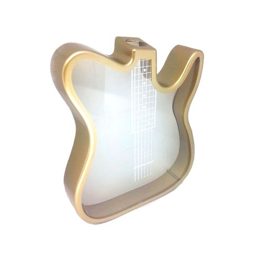 Quadro-de-Guitarra-Ouro