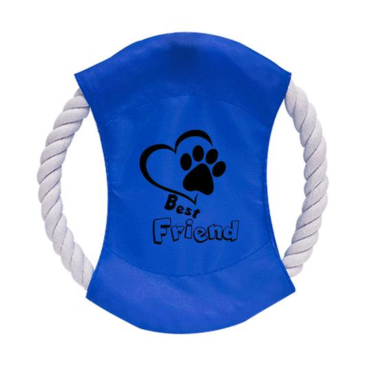 Frisbee-de-Cachorro-para-Sublimacao-na-Cor-Azul---Tamanho-20cm