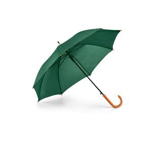 Guarda-Chuva-Cabo-Curvo-em-Madeira-para-Sublimacao-na-Cor-Verde-Clara---Tamanho-104mts