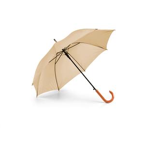 Guarda-Chuva-Cabo-Curvo-em-Madeira-para-Sublimacao-na-Cor-Bege---Tamanho-104mts