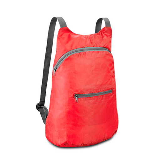 Mochila-Nylon-Dobravel-vermelha