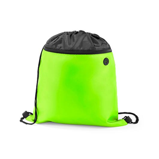 Mochila-Nylon-com-Bolso-Verde