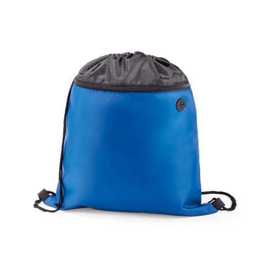 Mochila-Nylon-com-Bolso-Azul