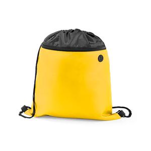 Mochila-Nylon-com-Bolso-Amarela