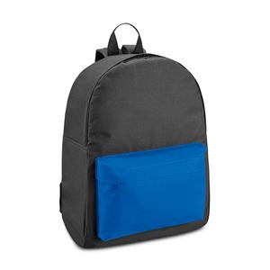 Mochila-Preta-com-Bolso-Azul