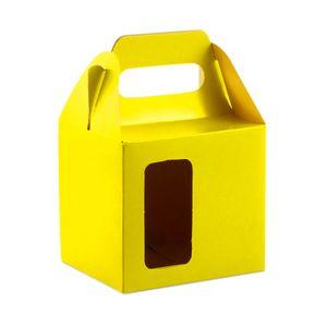 Caixinha-para-Caneca-com-Janela-e-Alca-para-Sublimacao-na-cor-Amarelo-Ouro