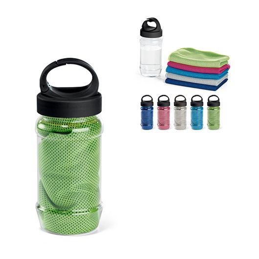 Toalha-Fitness-na-Garrafa-com-Mosquetao-nas-Medidas-30-x-80cm---Verde