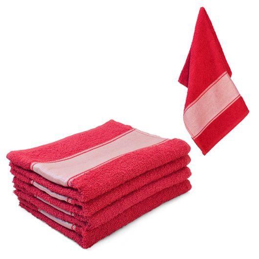 toalha-de-rosto-vermelha